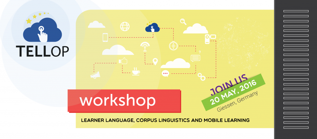 Workshop July 20: Learner language, corpus linguistics and mobile learning