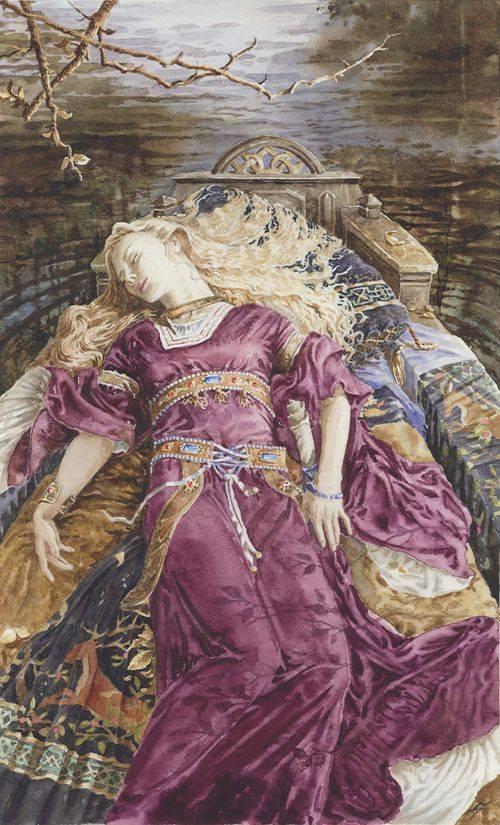 Lady of Shalott - Anna-Marie Ferguson