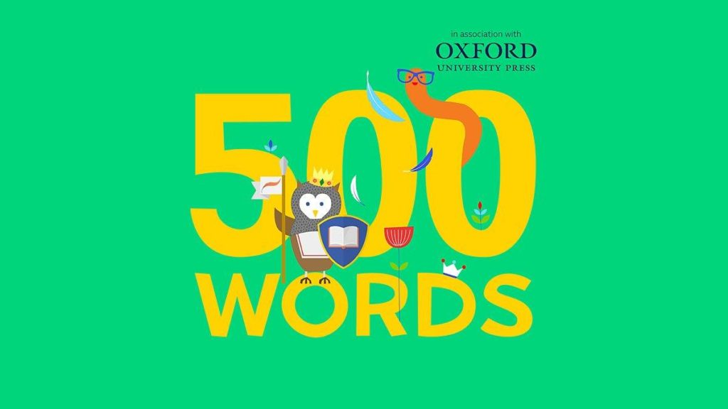 500 Words 2019: the biggest short-story writing competition for kids